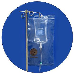 抗がん剤専用ジッパー付きプラスチックバッグ ケモカバー